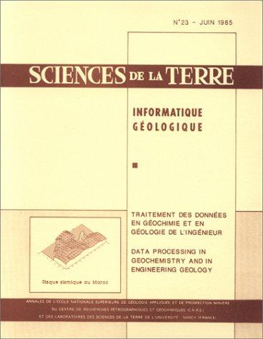 Traitement des données en géochimie et en géologie de l'ingénieur =: Data processing in geochemistry and in engineering geology