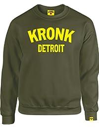 KRONK Guantes de Boxeo de Detroit – Sudadera para Hombre Klitschko Hearns