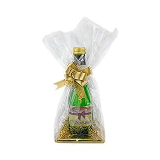 Merry-Christmas-Piccolo-02l-Sekt-in-Folie-und-Schleife-verpackt-als-Geschenk