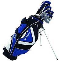 Ben Sayers Men's M15 Right Hand Regular Stand Bag - Blue/Black
