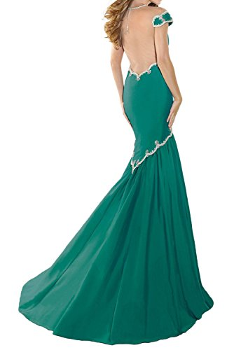 Gorgeous Bride Fashion Meerjungfrau Lang Taft Tuell Schleppe Abendkleid Festkleid Ballkleid Orange