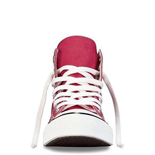 Converse Unisex-Adult Chuck Taylor All Star Hi-Top Trainers, Maroon- 10.5 UK