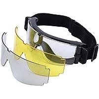 Yosoo® Gafas Tácticas X800 Goggle Gx1000, con 3 Lentes para Paintball/Airsoft/Outdoor/Deportes/Esquí/Surf