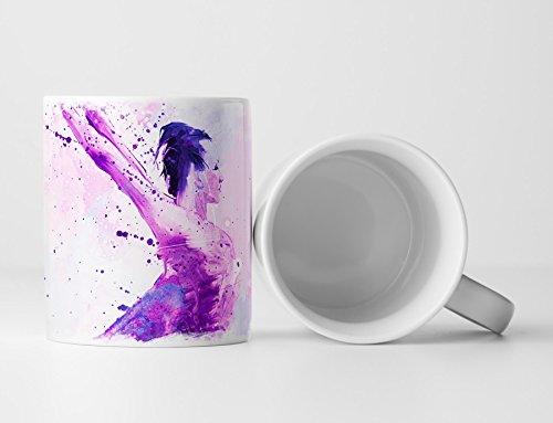 Ballett VIII Tasse als Geschenk, Design Sinus Art