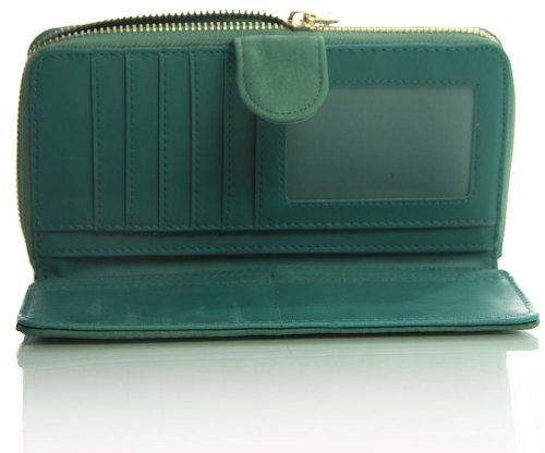 Big Handbag Shop , Portafogli  donna Rosso (Blu)