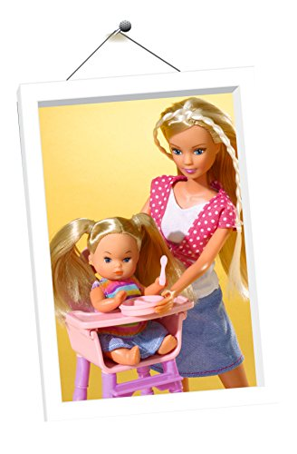Simba Steffi Love - muñecas (Chica, Multi, Baby carrier, Feeding bottle, Femenino)