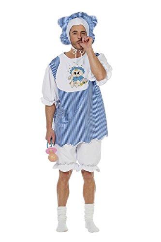 Wilbers Herren Kostüm Baby Boy Babykostüm Karneval Fasching Gr.52