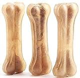 4 Pcs Hueso Prensado para Perros Piel Vacuno Fortalecedor de Dientes Stick Dental Dog Snack 14cm BPS-5091 * 2