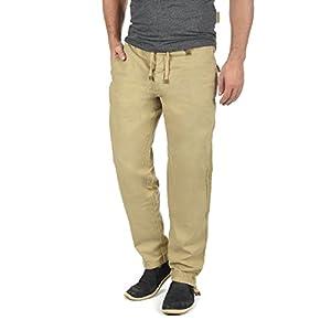 INDICODE Ives Herren Leinen-Hose lange Hose bequeme Stoffhose aus hochwertiger Leinenmischung
