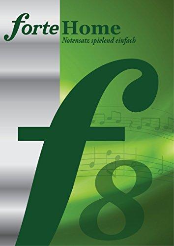 Preisvergleich Produktbild Forte 8 Home - Notenschreibprogramm für Musiker