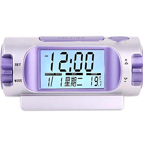 KHSKX Stumm am Krankenbett, Kinder leuchtende kleine Uhr, Student Voice broadcast Musik Uhren , (Kleine Eine Musik Kostüme Nacht)