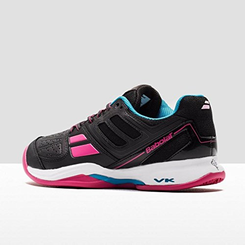 BABOLAT Pulsion Clay Women Nero – Scarpe Tennis Dark Grey/Pink