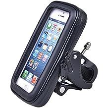 Maclean MC-688 - Soporte con funda impermeable de bicicleta para navegador, smartphone Tres tamaños S/M/L (L)