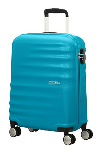 american-tourister-wavebreaker-spinner-55-20-bagaglio-a-mano-hot-lips-pink-36-ml-55-cm