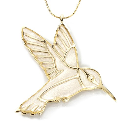 collier-pendentif-colibri-nacre-bijoux-en-argent-fin-plaque-or-et-fimo-fait-main-chaine-en-or-lamine
