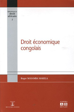 Droit économique congolais par Roger Masamba