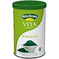 NaturGreen Experience Espirulina, Bebida para el control de peso - 175 gr.