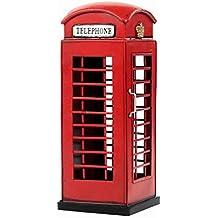 Londres Viejo Modelo De Cabina Telefónica Hoja De Hierro Hecho A Mano Antiguo Modelo De Hierro