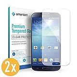 smartect Panzerglas kompatibel mit Samsung Galaxy S4 / S4 NEO [2 Stück] - Displayschutz mit 9H Härte - Blasenfreie Schutzfolie - Anti Fingerprint Panzerglasfolie