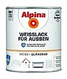 Alpina Weißlack für Außen Ultra Wetterschutz Glänzend 2 Liter