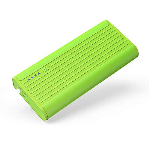 BONAI Powerbank,10000mAh Externer Akku mit LED-Leuchten Handy Power Bank für iPhone XS 8 8Plus 7 6s 6Plus,iPad,Samsung Galaxy Phone und mehr Smartphones(Grün)