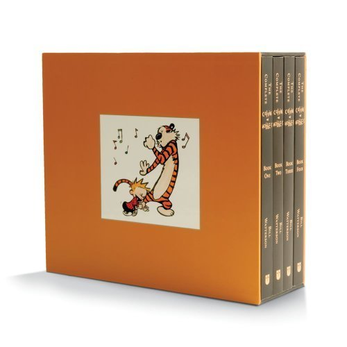 The Complete Calvin and Hobbes [BOX SET] by Bill Watterson (2012) Paperback