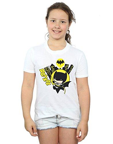DC Comics niñas Chibi Batman Swinging Camiseta 5-6...