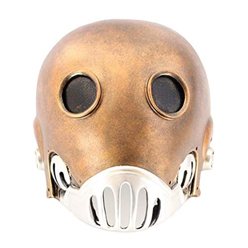 Fittrame Halloween Maske,Hellboy Maske Original Latexmaske Hell Boy Dämonenmaske Latex Dämon Teufel Teufelsmaske (Tong) (Kinder Hellboy Kostüm)