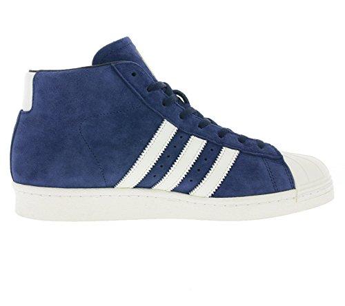 Adidas Pro Model Vintage Dlx, Baskets Montantes Bleues