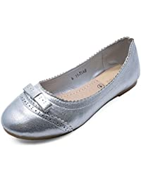 Prewalker Ballerina W. Elastic, Hausschuh Mädchen, Girls Cold lined low house shoes MOVE