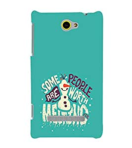Fuson Premium Printed Hard Plastic Back Case Cover for HTC Windows Phone 8S