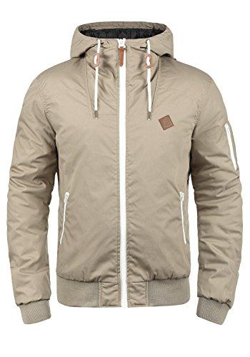 !Solid Tilly Herren Übergangsjacke Herrenjacke Jacke Mit Kapuze, Größe:XXL, Farbe:Dune (5409)
