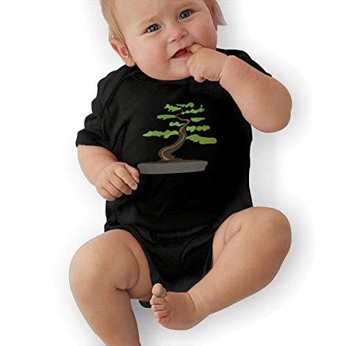 shuangshao liu-Bodys & Einteiler Bonsai Tree Baby Clothes Babies Boys' Short Sleeve Baby Rompers Jersey Short Sleeve Bodysuit