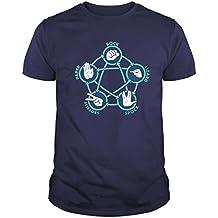Camiseta de Hombre The Big Bang Theory Sheldon Cooper Penny Bazinga 328e21f2805