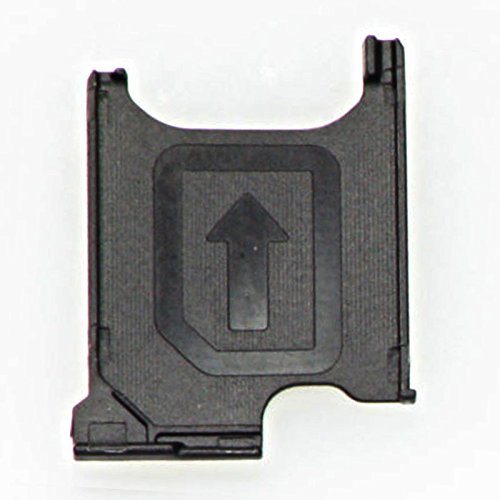 NETBOON® Sony Xperia Z2 Sim Card Holder Plastic Tray Original Genuine Replacement - Black  available at amazon for Rs.249