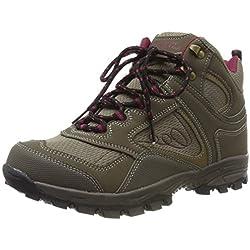 Mountain Warehouse Botas cómodas McLeod para Mujer - Botines Transpirables, Botas de montaña Resistentes, Zapatos para Caminar Ligeros y Acolchados Marrón Talla Zapatos Mujer 38 EU