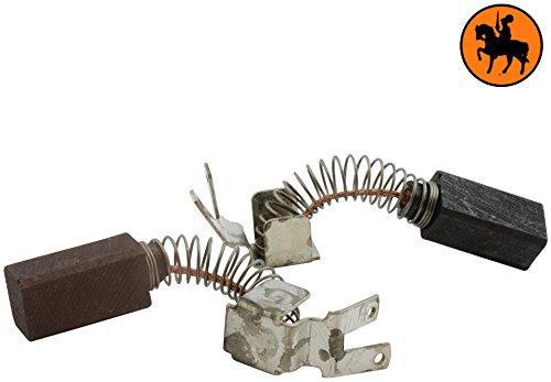 Kohlebürsten für METABO DIAMANT 1000 Bohrmaschine -- 6,3x8x15mm -- 2.4x3.1x5.9'' -- Mit automatische Abschaltung
