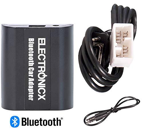 Electronicx Adaptador de Radio para Coche Auto Carro Manos Libres Bluetooth Controlador de Radio Desde el Volante AUX MP3 CD Honda Goldwing GL1800