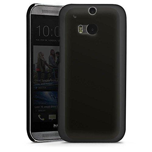 DeinDesign HTC One M8s Hülle Case Handyhülle Schwarz Black Dark