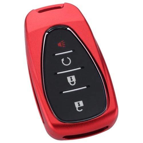 HaiMa 20018 Modell Für Chevrolet Car Aluminum Alloy Schlüsselverbund Set Von Shell-Red