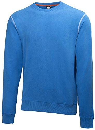 Helly Hansen Workwear Sweatshirt Oxford Sweater Pullover 530 racer, Größe XL, blau, 79026 -