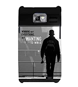 PrintVisa Resulting Wording 3D Hard Polycarbonate Designer Back Case Cover for Samsung Galaxy S2 i9100 :: Samsung I9100 Galaxy S II