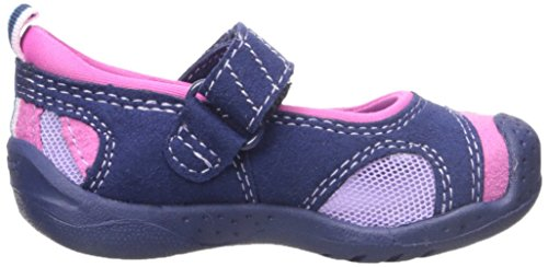 pediped Minnie, Mary Jane fille Blue (Navy Pink)