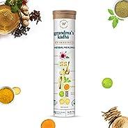 Wellbeing Nutrition Grandma's Kadha, Organic Certified Ayurvedic Herbal Remedy for Cold, Cough, Flu, Sore