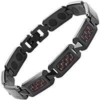 Willis Judd Herren Magnetarmband Wolframcarbid Schwarz poliert Armband mit Rot Carbon Fiber in gratis schwarz... preisvergleich bei billige-tabletten.eu