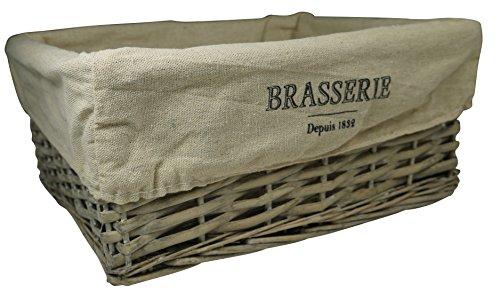 khevga Aufbewahrungskorb Brasserie Brötchenkorb aus Weide
