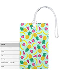 Luggage Tags   Fruit Theme Printed Luggage Tags, Bags Tag For Kids By 100yellow – Ideal For Travel