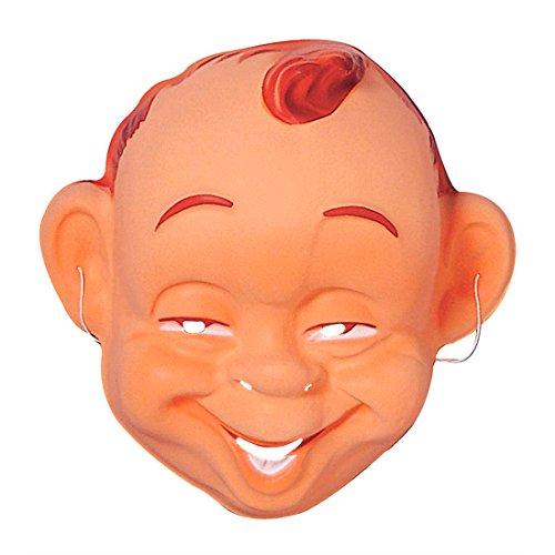 Amakando Lachende Babymaske Baby Maske Hartplastik Charakter Gesicht fröhlich Zufriedenes Kind Faschingsmaske Plastikmaske JGA Babies Karnevalsmaske Säugling (Baby Maske Gesicht)