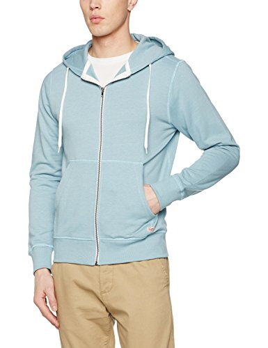 941faebaa252a3 JACK   JONES Herren Jacke Jorstorm Sweat Zip Hood Color Noos Blau (Stone  Blue Fit