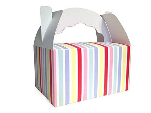 """5 Fröhliche Snack-Henkel-Box aus der Serie """"Colored Carnival"""""""